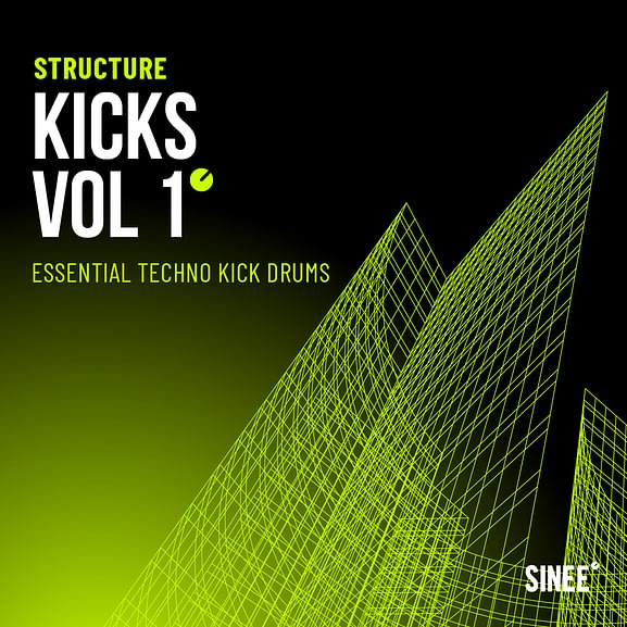 Kicks Vol. 1 - Essential Techno Kick Drums 1