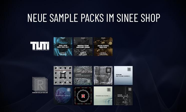 Neue Sample Packs