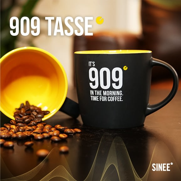 909 Tasse - Time For Coffee - Gelb 1