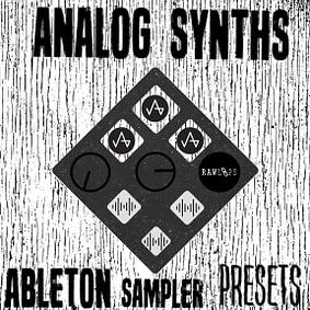 Raw Loops – Analog Synths – Ableton Sampler Presets