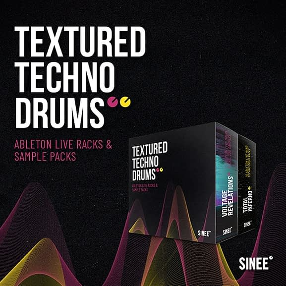 Textured Techno Drums Bundle 1