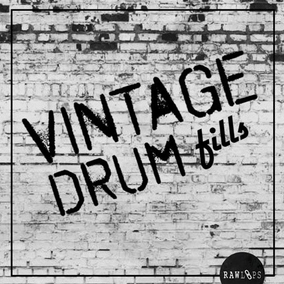 Raw Loops - Vintage Drum Fills 1