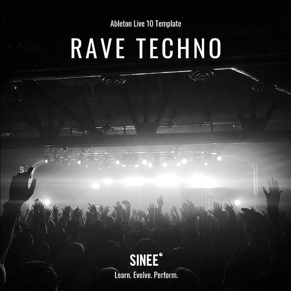 Ableton Live 10 Micro Template - Rave Techno 1