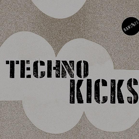 Raw Loops - Techno Kicks 1