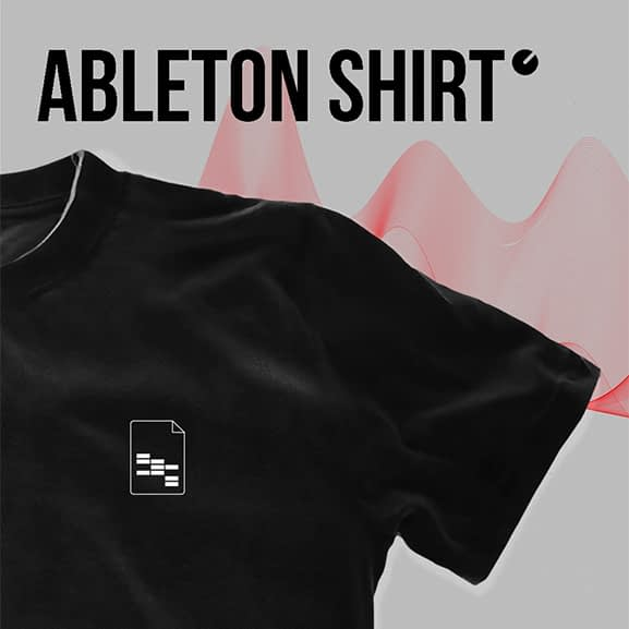 ableton project file shirt