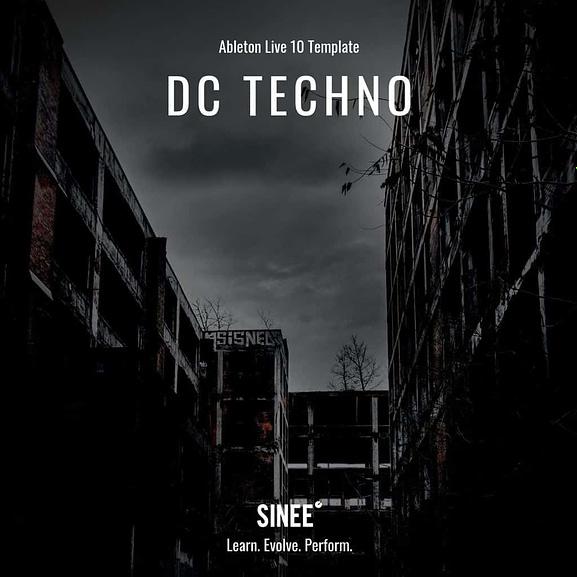 Ableton 10 Micro Template - DC Techno 1