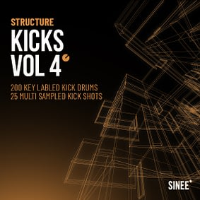 Kicks Vol. 4 – Industrial & Hard Techno Kick Drums