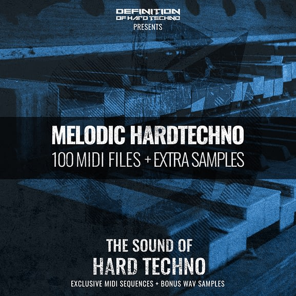 MELODIC HARDTECHNO MIDI PACK + WAV SAMPLES 1