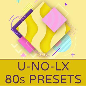 Deep Data Loops – U-No-LX 80s Presets
