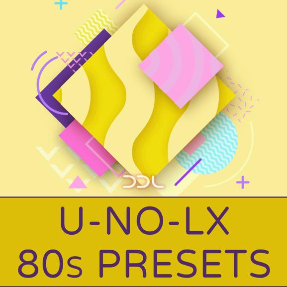Deep Data Loops - U-No-LX 80s Presets 1