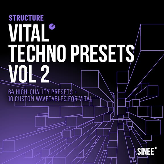 Vital - Techno Presets Vol. 2 1