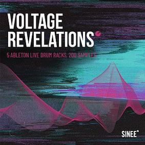 Voltage Revelations – 5 Ableton Live Drum Racks, 200 Samples