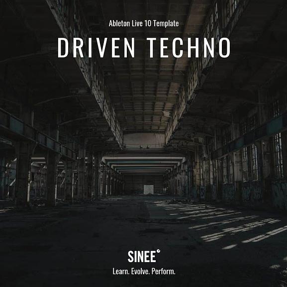 Ableton Live 10 Template - Driven Techno 1