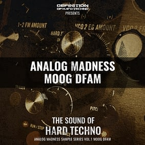 TLM Audio – Analog Madness Vol. 1 – Moog DFAM