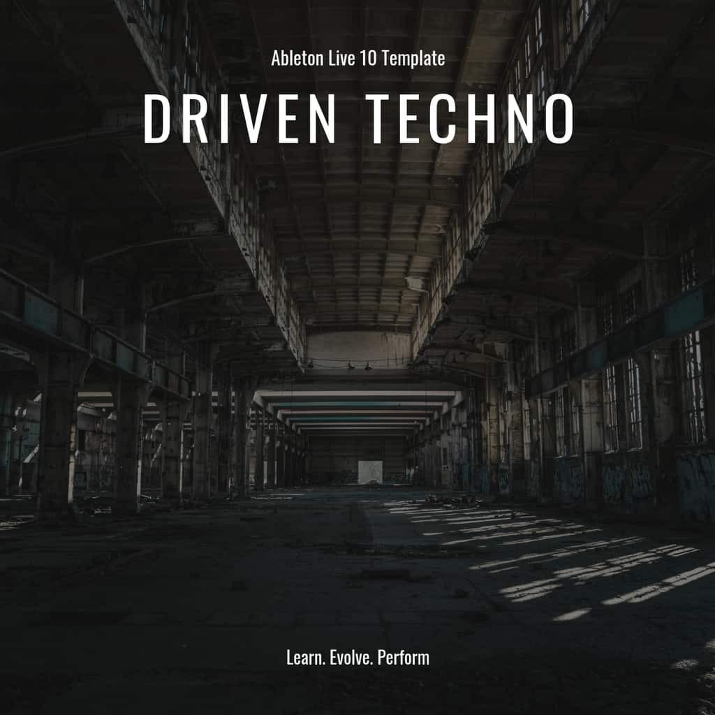 Ableton Live Template & MIDI Bundle Vol. 1 - Techno Edition 3