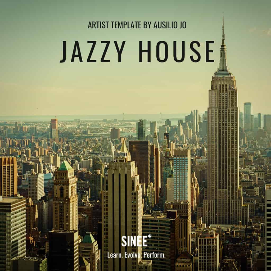 Jazzy House – Artist Ableton Live Template by Ausilio Jó