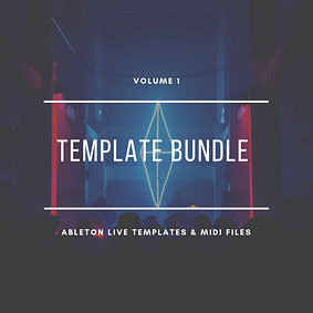Ableton Live Template & MIDI Bundle Vol. 1 – Techno Edition