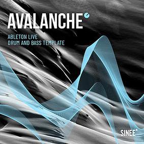 Drum and Bass Template von SINEE für Ableton Live – Avalanche