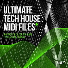 Ultimate Tech House: MIDI Files