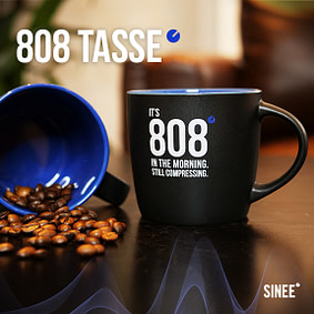 808 Tasse – Still Compressing – Blau