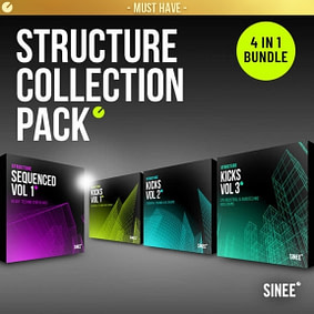 must have structure kick synth techno sample bundle pack