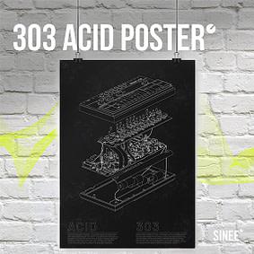 303 Acid Poster