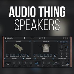 AudioThing – Speakers
