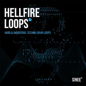 Hellfire Loops – Hard & Industrial Techno Drum Loops