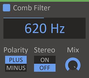 Kilohearts - Comb Filter 2