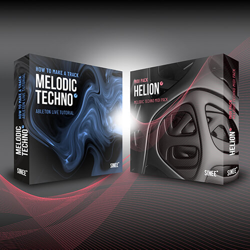 Melodic Techno Bundle - Kurs & MIDI Pack & Template 1