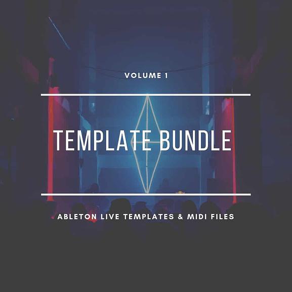 Ableton Live Template & MIDI Bundle Vol. 1 - Techno Edition 1