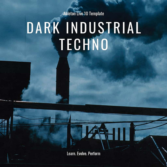 Ableton Live Template - Industrial Dark Techno 1