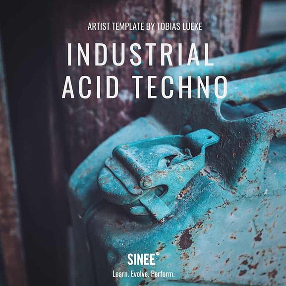Industrial Acid Techno - Artist Ableton Live Template 1