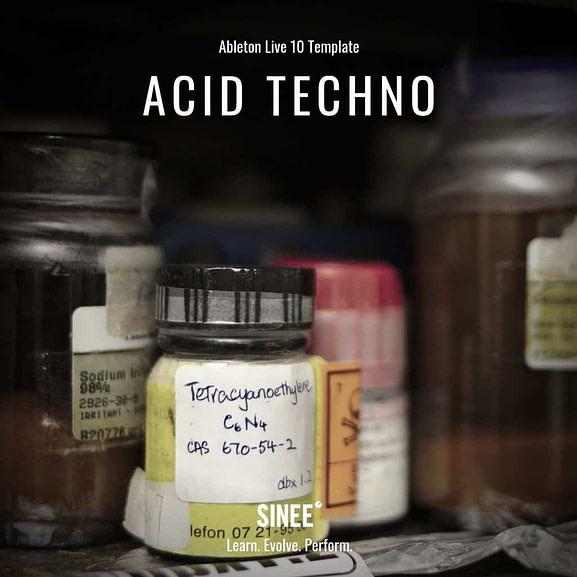 Acid Techno - Micro Template 1