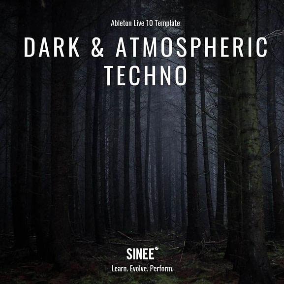 Ableton Live 10 Micro Template - Dark & Atmospheric Techno 1