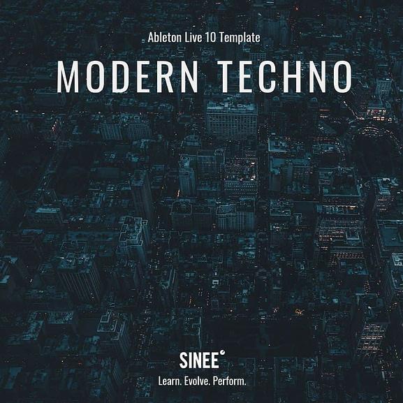 Ableton Live Template - Modern Techno 1