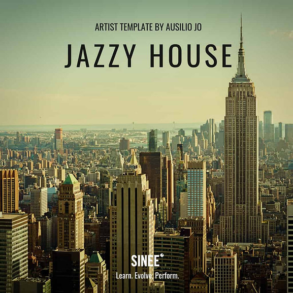 Jazzy House - Artist Ableton Live Template by Ausilio Jó 1