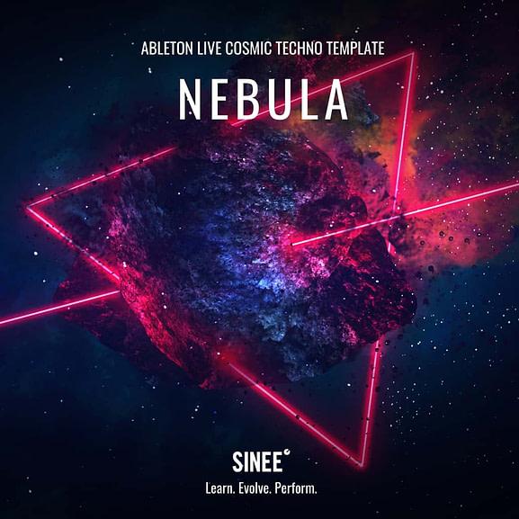 Nebula - Ableton Live Cosmic Techno Template 1