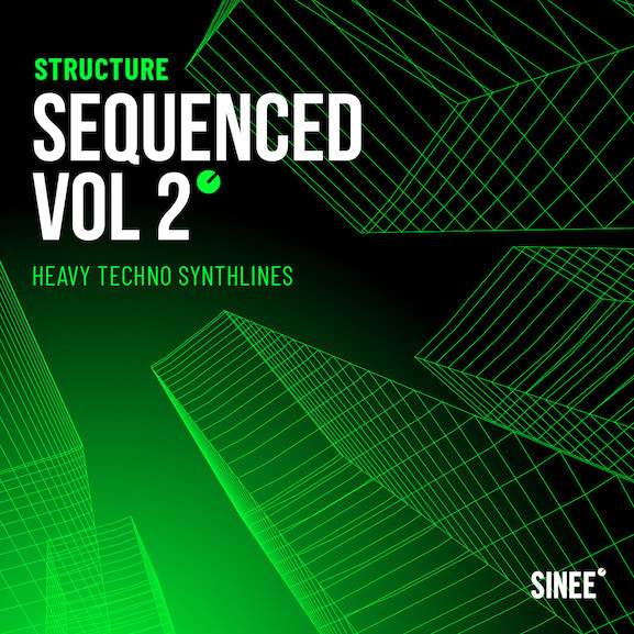 techno synth sounds sequenced 2
