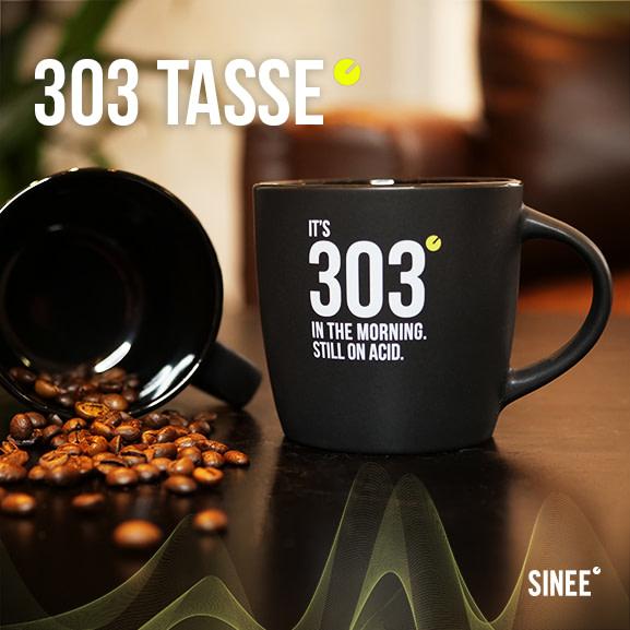 303 Tasse – Still On Acid – Schwarz