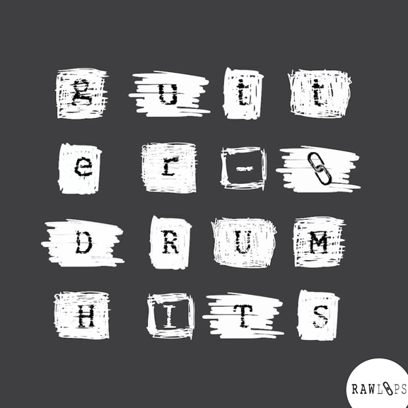 Raw Loops - Gutter Drum Hits 1