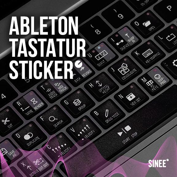 ableton live tastaturaufkleber