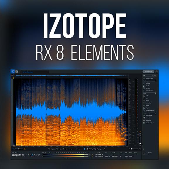 iZotope - RX 8 Elements 1
