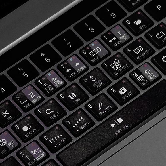 Ableton Live Tastaturaufkleber – für Apple Tastatur 1