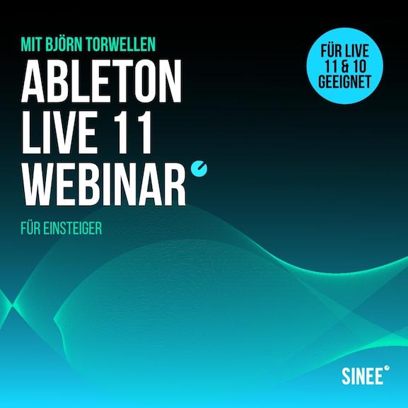 Ableton Live 11 webinar