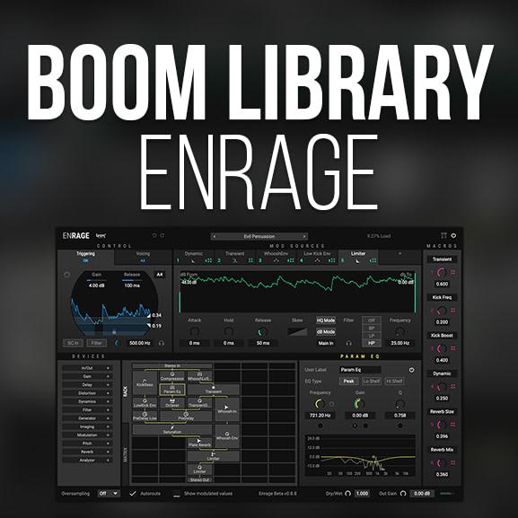 BOOM Library - ENRAGE 1