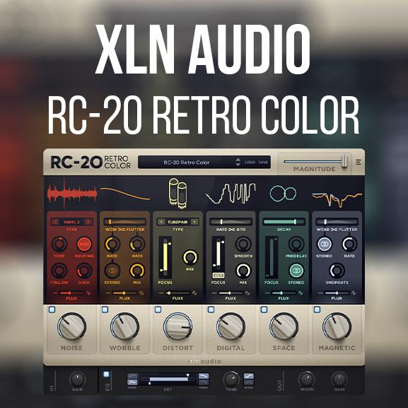 XLN Audio – RC-20 Retro Color
