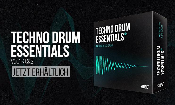 Techno Drum Essentials: 50 High Quality Kick Drums - ab jetzt im Shop! 1