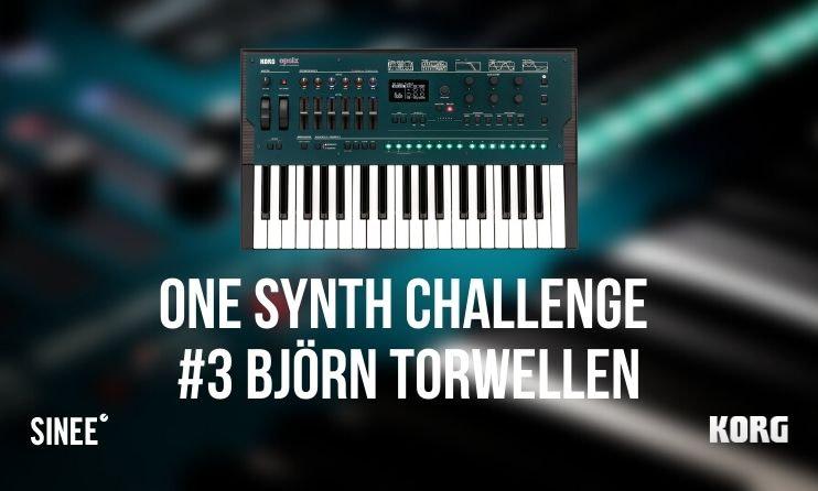 One Synth Challenge #3 – Live Producing mit Björn Torwellen & dem OPSIX von Korg